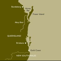Mary River Australia Map