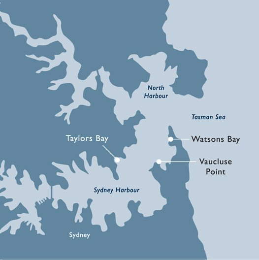 Sydney Harbour Map Australian Museum