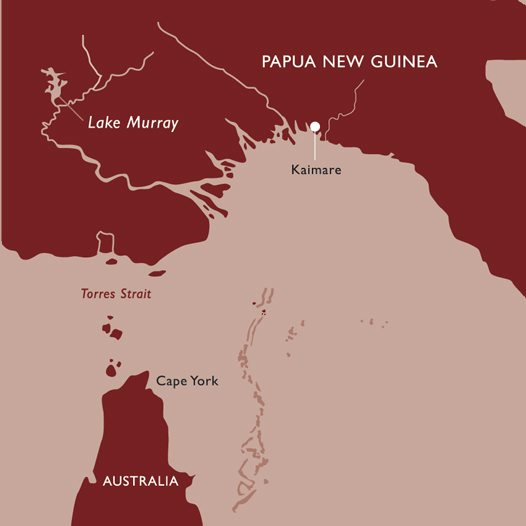 Kaimare, Papua New Guinea Map