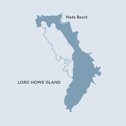 Lord Howe Island Map - Australian Museum