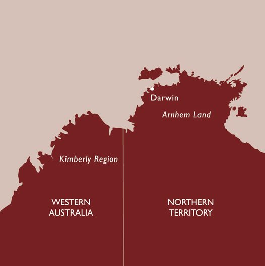 Northern Territory Darwin Map