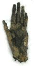 Ancient Egyptian mummified human hand