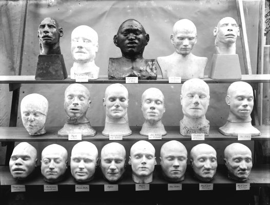 Death masks collection