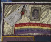 Section of AIDS Memorial Quilt