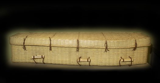 Coffin, bamboo