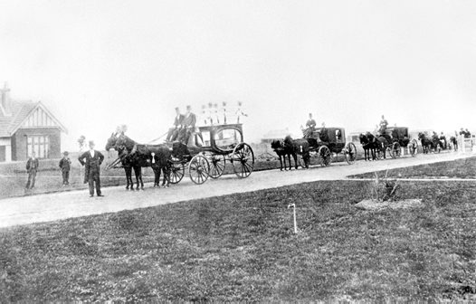 The funeral of Dorothy Gladys Knapp