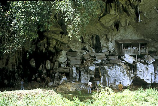 Toraja burial site near Londa