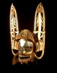 Malagan mask from New Ireland