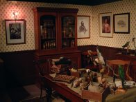 A recreation of Gould's workroom
