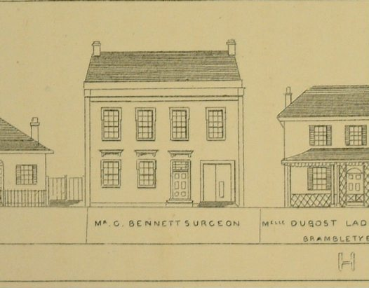 George Bennett's House Illustration