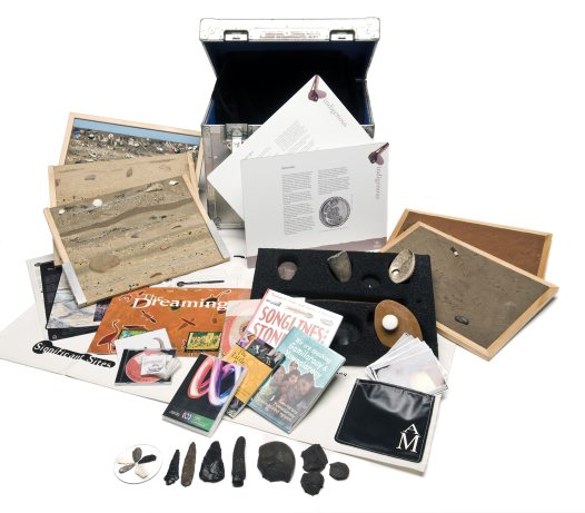 Museum in a box - Living on the Land