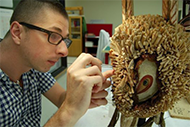 Sheldon Teare, Objects Conservator at the Australian Museum