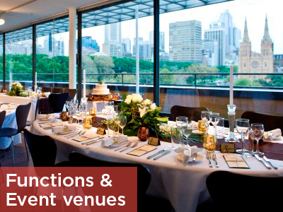Functions and event venues