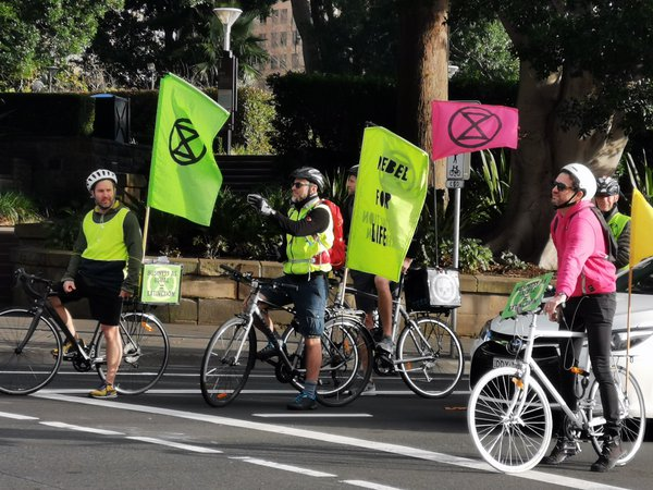 The fluorescent rebel jackets and flags are making a return to the streets. These Extinction Rebellion riders, restricted by COVID-19 gathering restrictions, fly the flag for climate change awareness and action. We need to be reminded that this environmental crisis is still one of the biggest issues we face. It never went away, but merely slipped to the back of our minds in recent months while we have been confronted by other longstanding or immediate challenges that have caused us to stand together and face head on.