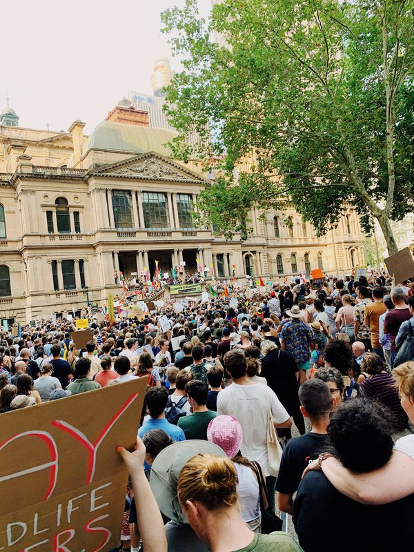 10 January 2020 - Climate Protest in Sydney