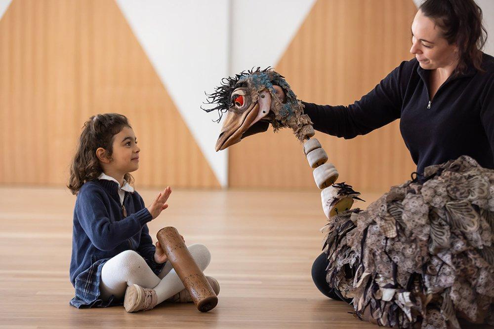 Edward the Emu puppet