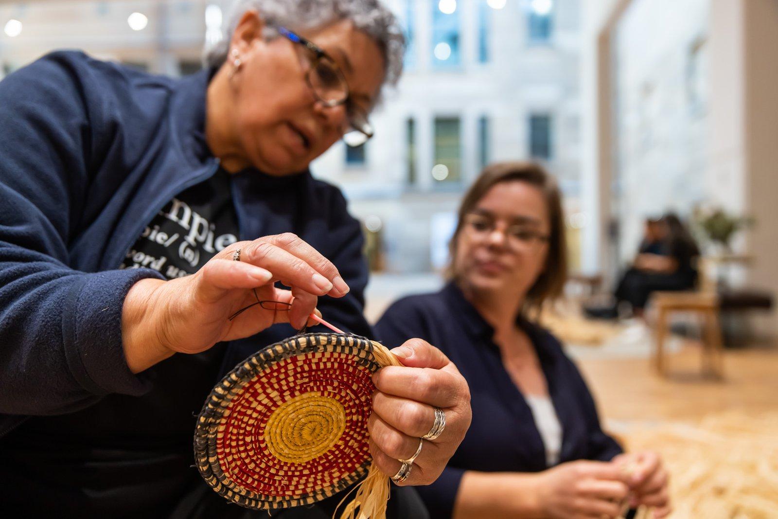 Ngumpie Weaving workshop