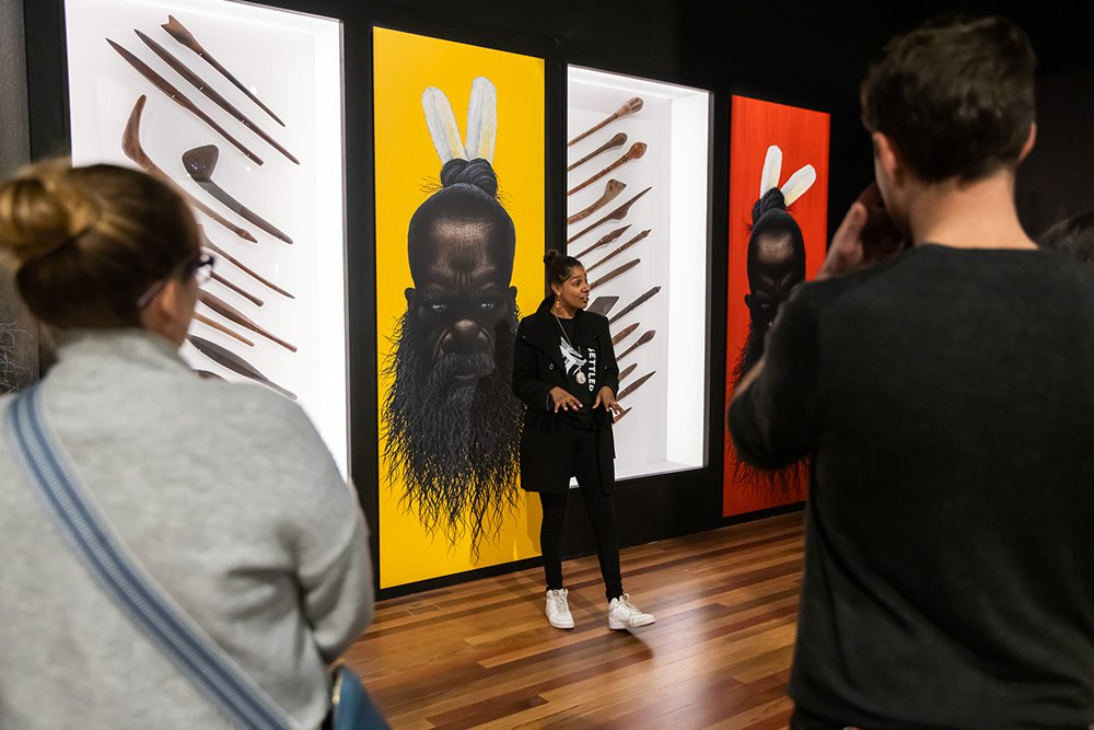 Unsettled exhibition tour