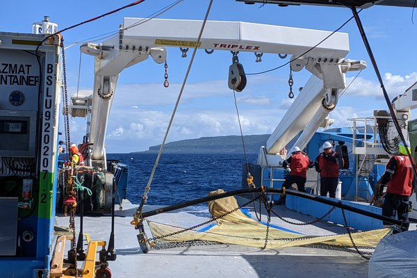 The Beam Trawl emerges from the deep – what will it bring up?
