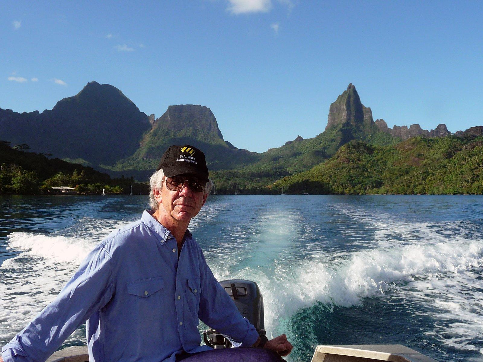 Image of Senior Fellow, Jeff Leis, Opunohu Bay