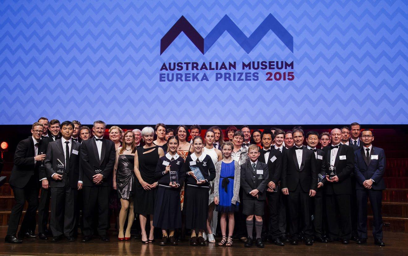 2015 AM Eureka Prize Winners