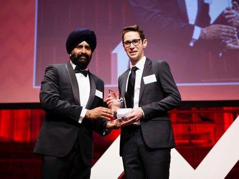 Winner of the 2015 3M Eureka Prize for Emerging Leader in Science Dr Phillip Urquijo