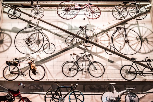 Bicycles in Museum Discovery Centre