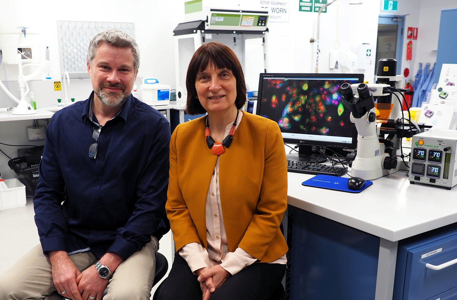 Professor Ewa Goldys & Dr Martin Gosnell