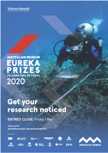 Get your research noticed - A3 poster Eureka Prizes