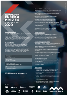 Information sheet - 2020 AM Eureka Prizes