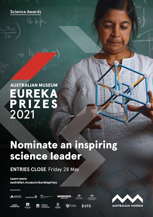 Nominate an inspiring science leader