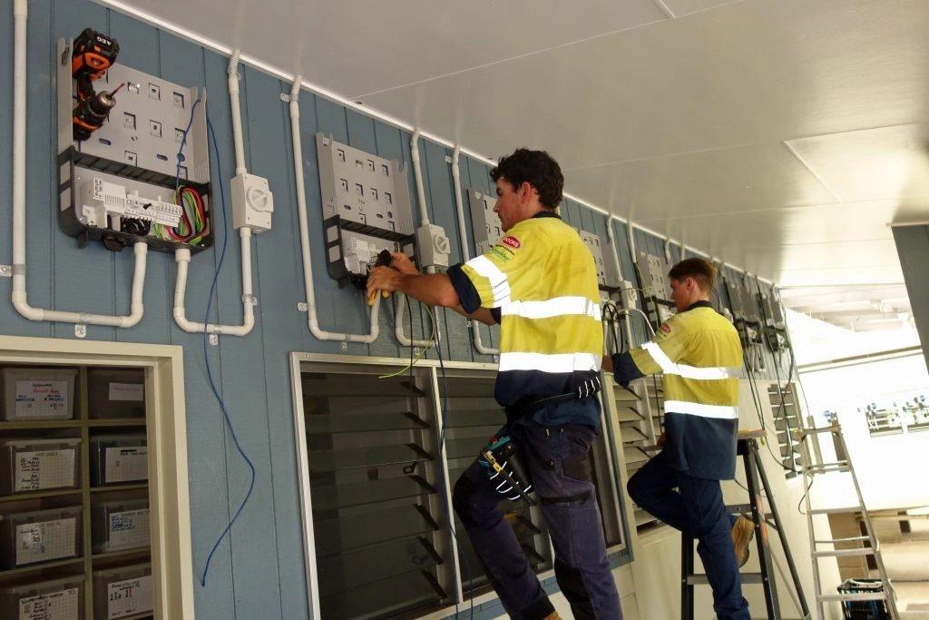 Installing solar inverters