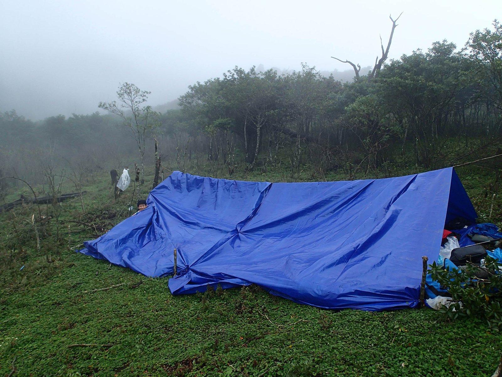 Camp in Hoang Lien Range