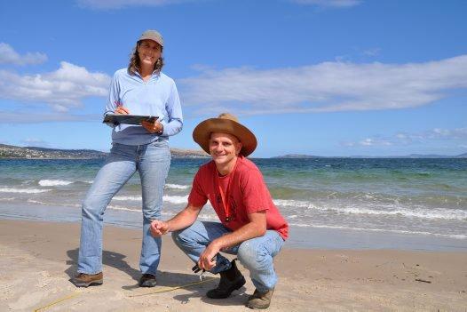 CSIRO Marine Debris team members