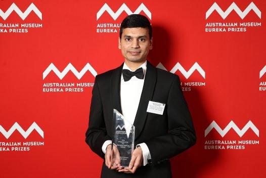 Associate Professor Sharath Sriram, winner of the 2016 3M Eureka Prize for Emerging Leader in Science