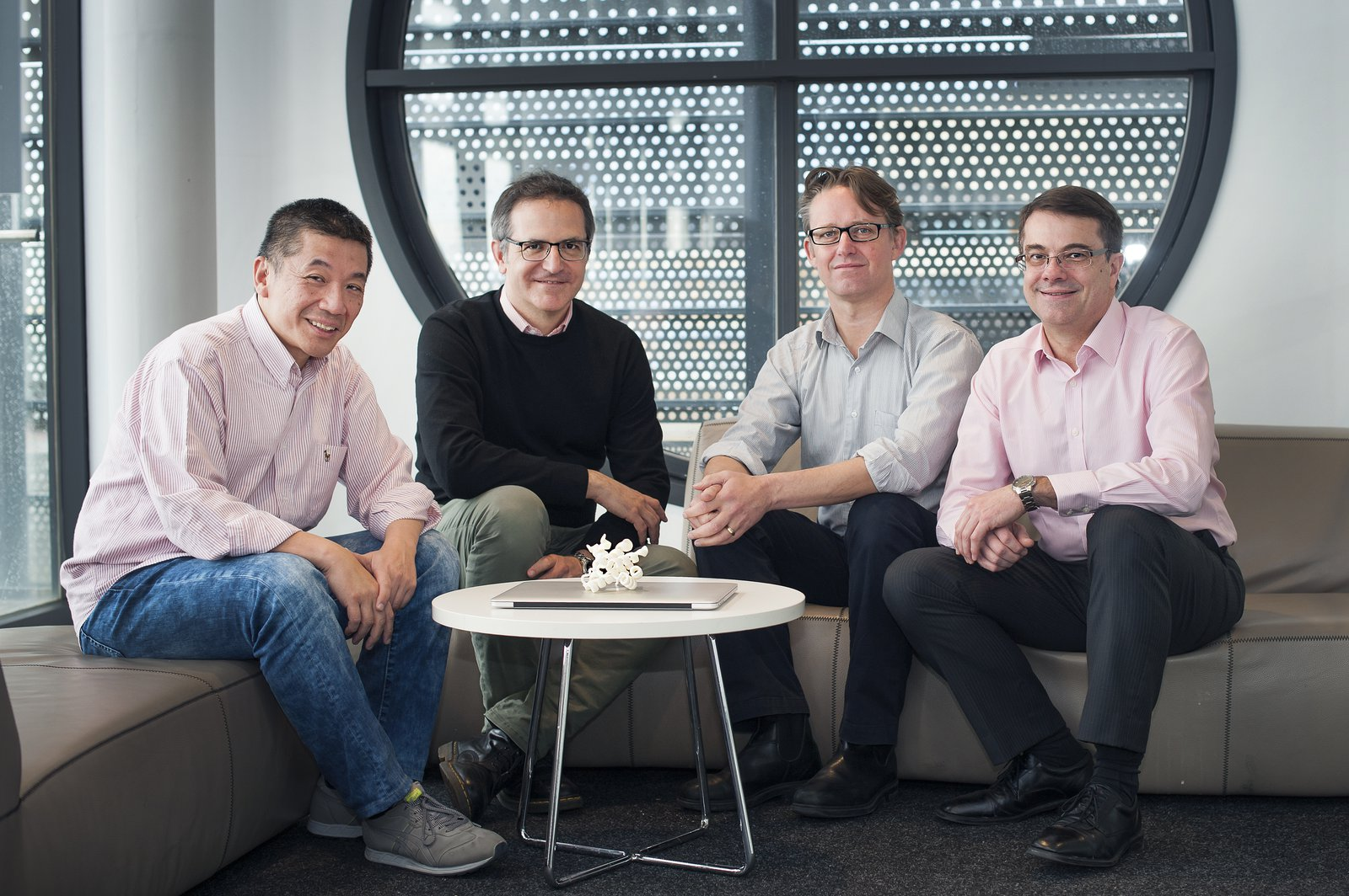 Professor David Huang, Dr Peter Czabotar, Associate Professor Guillaume Lessene and Professor Andrew Roberts