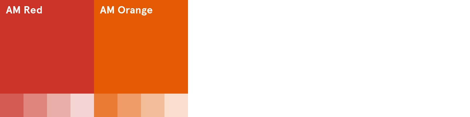 AM Core Colour Palette