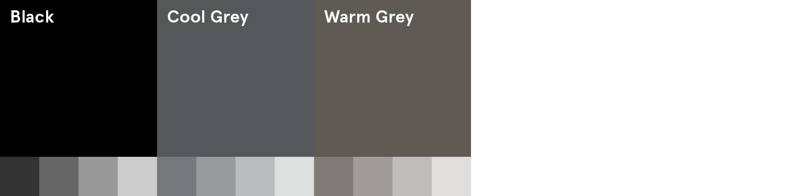 AM Neutral Colour Palette