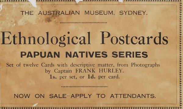 Australian Museum card, AMS492/C127