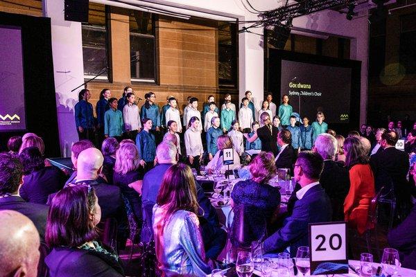 Gondwana Choir performing at Gala