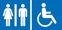 AM accessible toilet icon