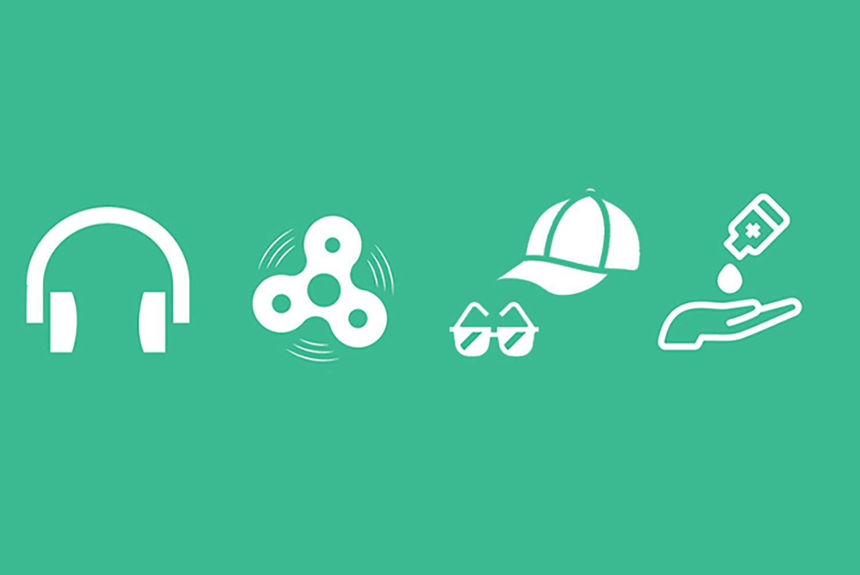 Visual story icons