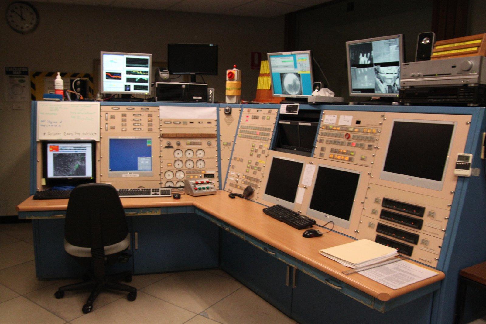 Anglo-Australian Telescope control room