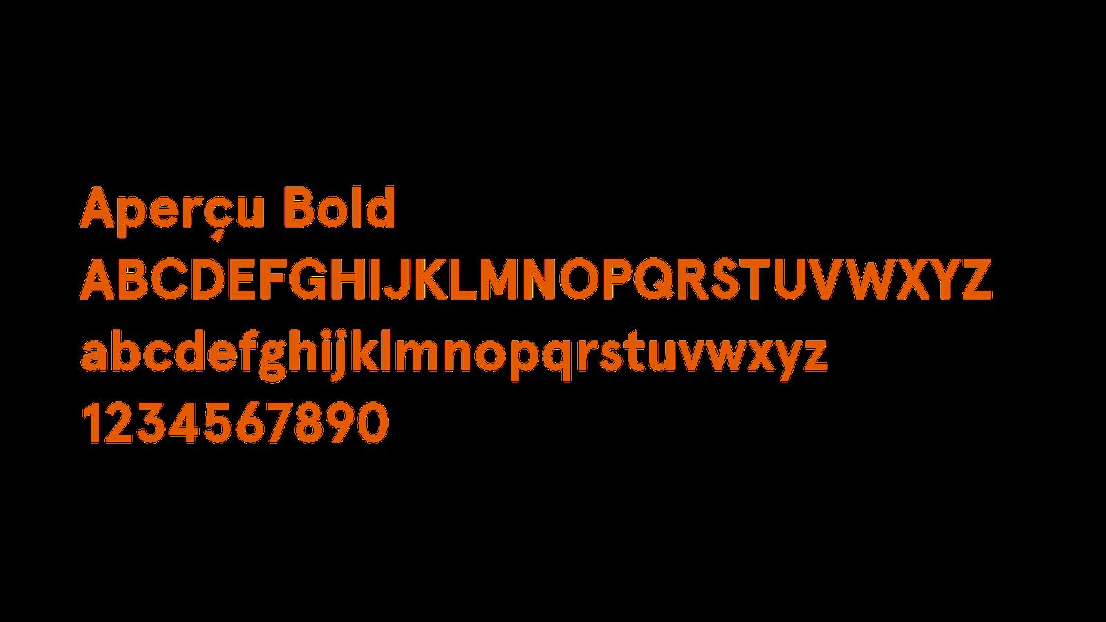 Apercu Bold