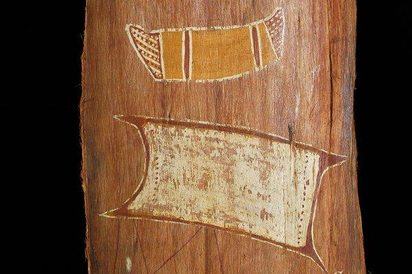 Bark painting - Arnhem Land