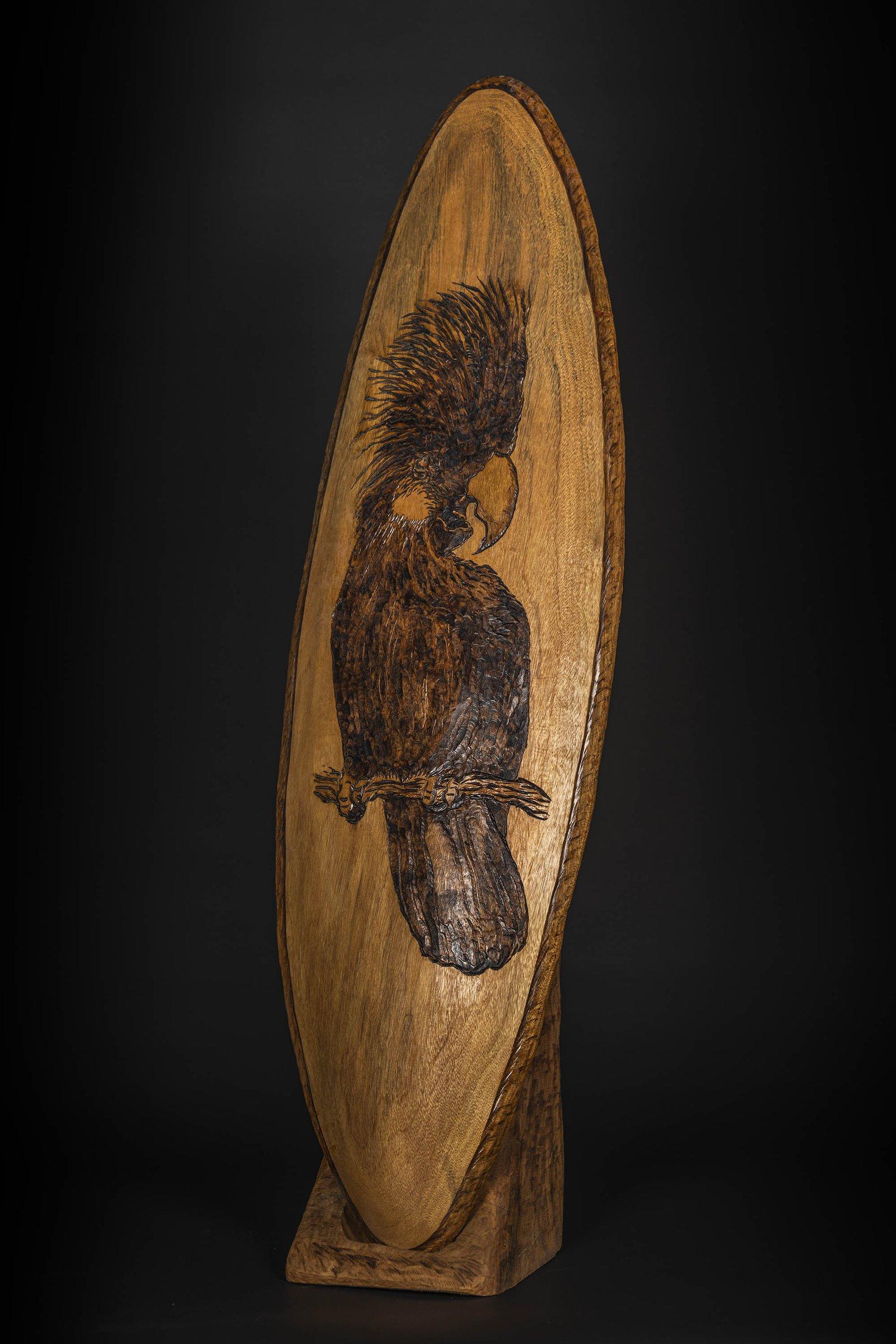 Black Cockatoo Shield