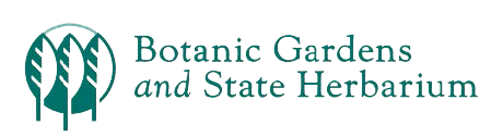 Botanic gardens and state herbarium logo