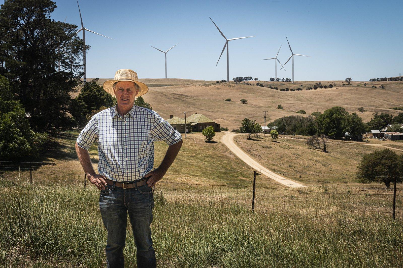 Charlie Prell - Sheep Grazier and Energy Farmer