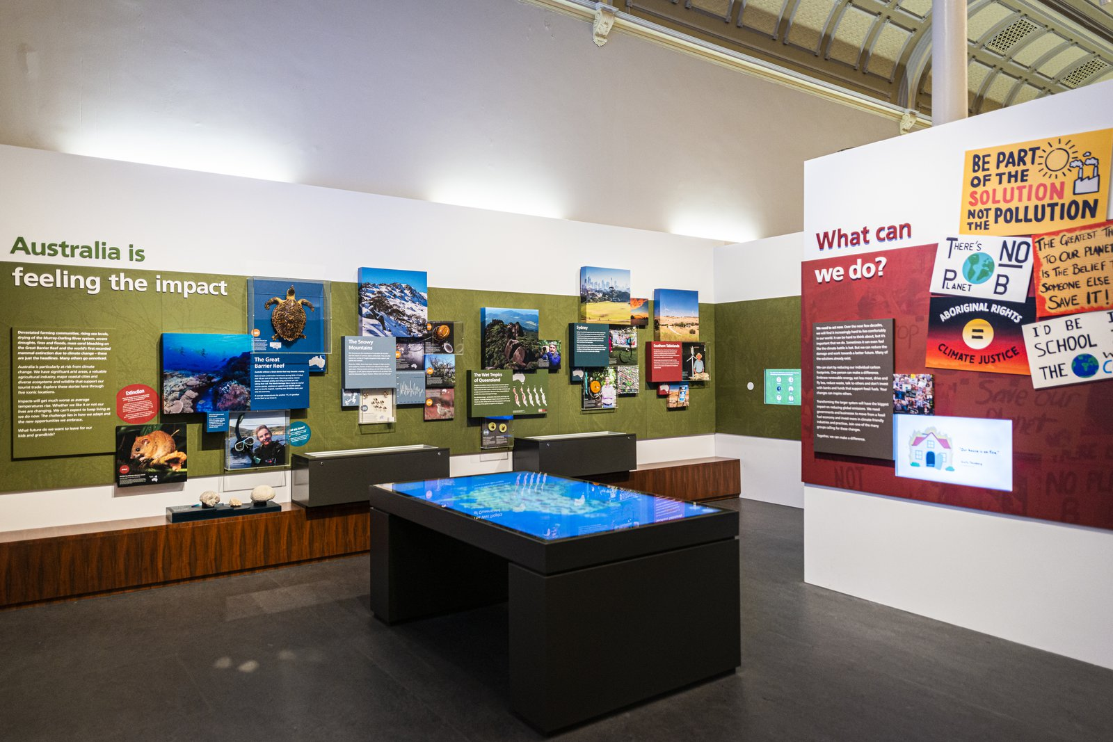 Changing Climate display