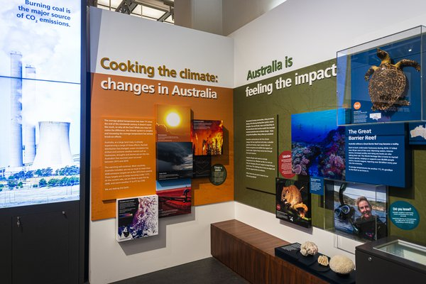 Climate change exhibition 8 October 2020